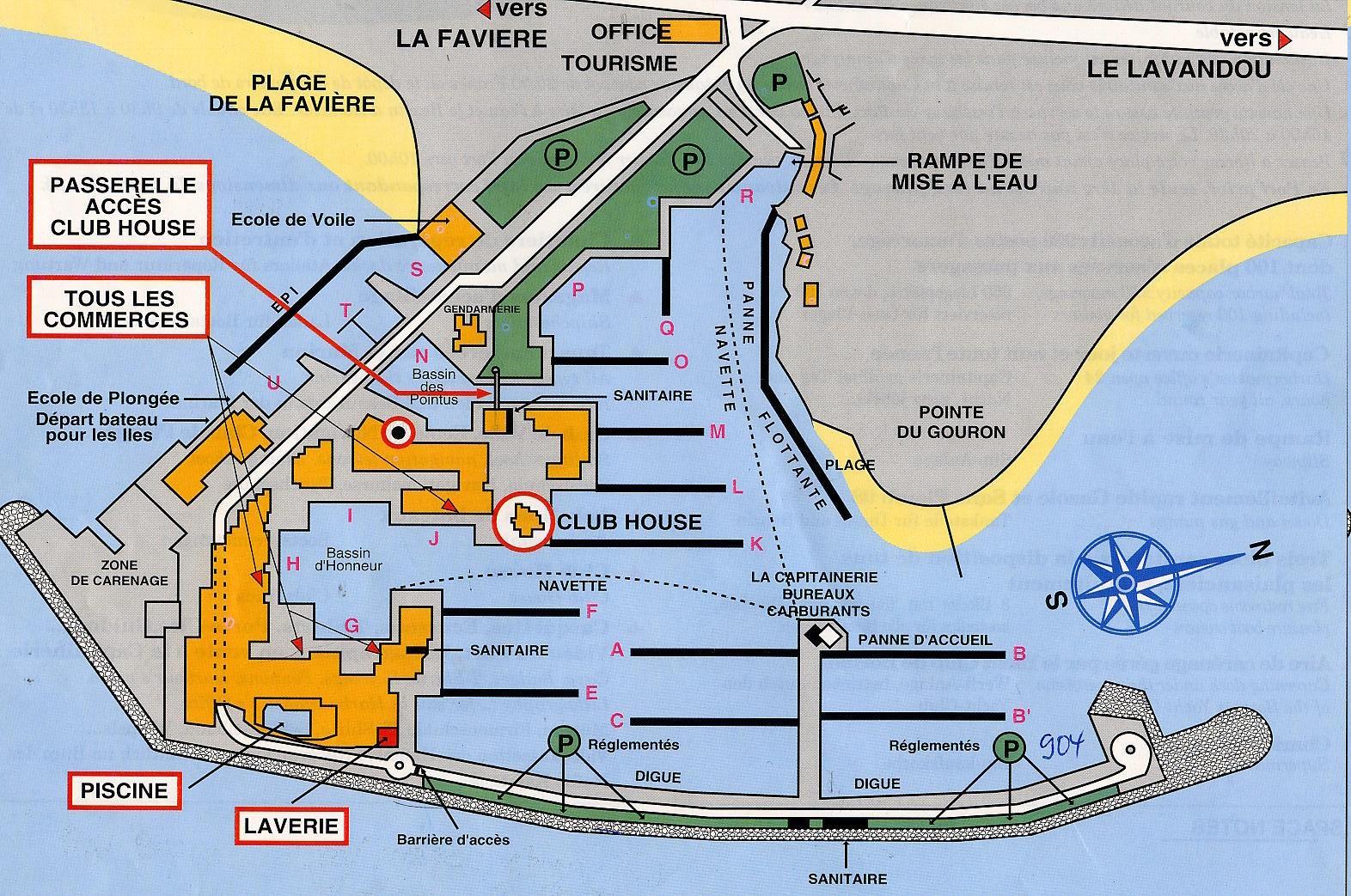 Infos pratiques kiriacoulis point d 39 amure - Office du tourisme bormes les mimosas ...